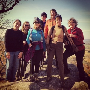 Trail Dames at White Rocks