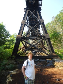 Logan and the Trestle