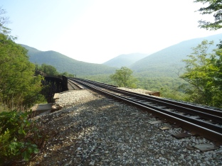 The top of the trestle.
