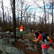 On the rocky ridge