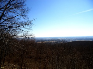 View towards Frederick, Maryland