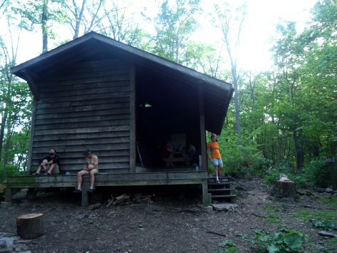 The BIG Peter's Mtn Shelter!
