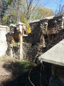 The Ironmaster's house ruins