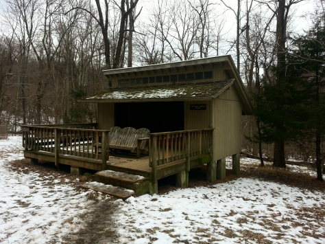 Jim & Molly Denton Shelter on the AT in VA...Nice break spot.