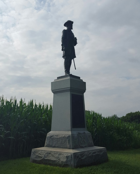 Colonel Benjamin C. Christ - Monument to the 50th Pennsylvania Volunteer Infantry (1st Brigade, 1st Division, 9th Corps)