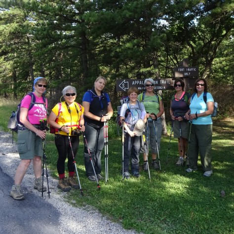 The Dames at Shippensburg Road Trail Head